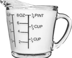 Equivalencia de onza a gramo y litro