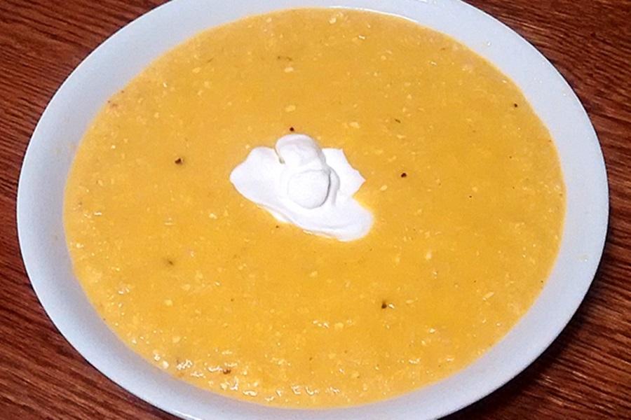 sopa choclo